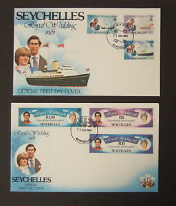 Sierra Leone 1981 Royal Wedding FDC First Day Cover Princess Diana Flowers