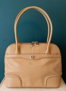 Oroton Leather Day Bag, Small (Pre-owned, As New)