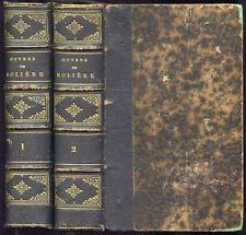OEUVRES COMPLETES DE MOLIERE, éd. lahure - 1856. 2 volumes Théatre