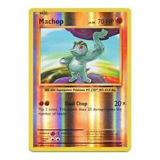 Pokemon XY Evolutions Machop 57/108  Common - Reverse Holo Card