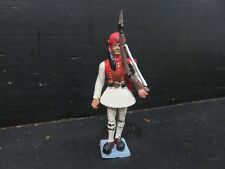 SOLDAT GREC AOHNA SOCLE BLEU 3 toy soldiers made by Aohna in Greece epo starlux