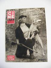 Ciné Revue France N°40 Octobre 1954 Dany Robin