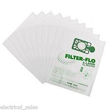 FITS NUMATIC HENRY HVR200 NVM-1CH MICROFIBRE CLOTH CLEANER DUST BAG x10