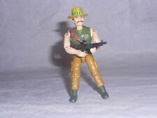 Figurine Vintage mercenaire LANARD type G.I JOE avec accessoires 1986