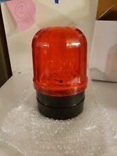 Car Red Lens LED Solar Strobe Warning Light Magnet Caution Police Light