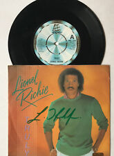 Lionel Richie  - Musik - original signiertes Single Cover  - 18 x 18  cm