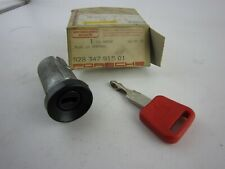 OEM Porsche 928 Ignition Steering Lock Cylinder with KEY, 92834791501, NEW!