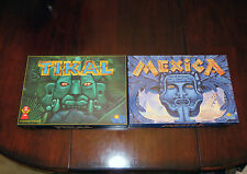 Mexica and Tikal Board Games - by Kiesling and Kramer - Rio Grande Games