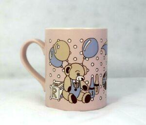CUTE TEDDIES Bears TOYS MUG Cup STAFFORDSHIRE ENGLAND Kiln Craft Pottery