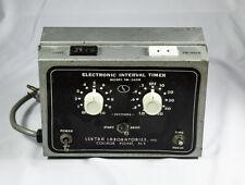 Electronic Interval Timer - Lektra Laboratories Model Tm-560R