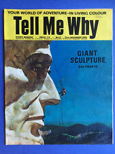 Tell Me Why - Your World Of Adventure - No.13 - November 1968 - Wonders Magazine