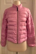 Crewcuts J.Crew Girls' Shiny Puffer Jacket Size 14 Light Pink A9168
