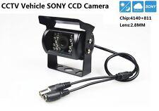 CCTV Sony CCD 700TVL Chip 4140+811 lens 2.8mm Car Vehicle Waterproof Camera