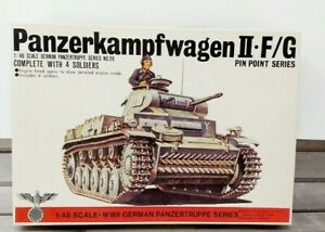 Bandai Panzerkampfwagen II F/G German Panzertruppe Series  NO. 20 1/48 Scale NOB