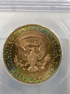 1964 P KENNEDY HALF DOLLAR ICG MS67  WONDERFUL COLOR
