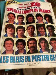 MAGAZINE FOOTBALL ONZE Hors série n°13 MAI 1982 spécial équipe de France