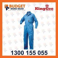 Kinggee Summerweight Combination Overalls - 100% Cotton Drill-190gsm (K01240)