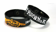 PANIC! AT THE DISCO MY CHEMICAL ROMANCE DIMC NEW! 2pcs(2x) Bracelet Wristband