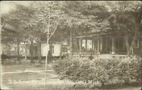 Woodland MI Home c1910 Real Photo Postcard