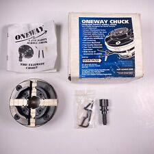 Oneway Chuck Four Jaw Safety Scroll Chuck For Lathes Amp Taper Lock Adaptor To Fit