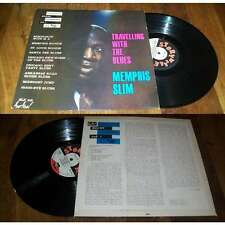 MEMPHIS SLIM - Travelling With The Blues Rare French LP ORG Storyville 60' Blues