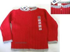 Nwt New Baby Gap Knitted Sweater Zipper Jacket Boys / Girls sz 3-6 M