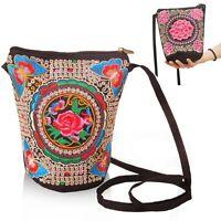 Boho Ethnic Embroidered Hmong Thai Purse Clutch Bag Messenger Bag Women Girl
