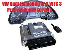 VW Audi Immobilizer Version 3 WFS3 (2000-2005) Programming Synchronization