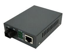 Fiber - Fast Ethernet WDM Media Converter, SC Single Mode, 20KM, TX1550NM - 4336