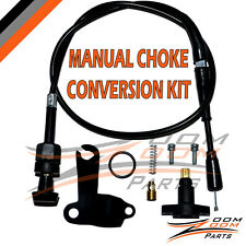 POLARIS SCRAMBLER 50 MANUAL CHOKE CABLE CONVERSION KIT SET 2001-2003