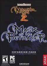 Never Winter Nights 2 Mask Of The Betrayer Expansion Pack Pc DVD Rom Complete