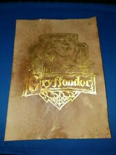 Harry Potter House Crest Gryffondor Gold Leaf. Harry Potter prop