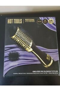 HOT TOOLS Professional 24k Gold One Step Pro Blowout Styler Hair Brush Dryer