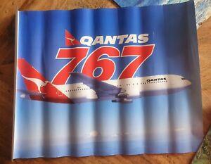 QANTAS B767 POSTER