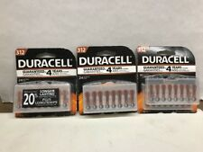 Duracell Easy Tab Hearing Aid Batteries Size 312 Wholesale 64 Batteries 03/2019+