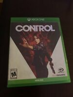 Control USED (Microsoft Xbox One, 2019) Video Game