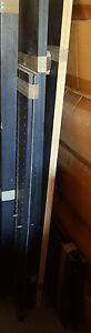 Black Large Deluxe CD/ DVD Holder Movies Media Storage Cabinet Stand !!!