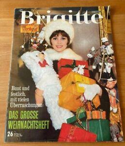 BRIGITTE Weihnachtsheft 1962