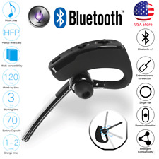 Wireless Bluetooth Handsfree Earphone Earbud Headset In Ear Earpiece Universal