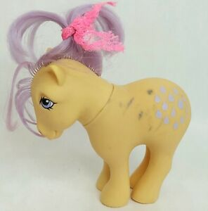 My Little Pony figure Lemondrop Lemon Drop Flawed Vintage 1982 1980s