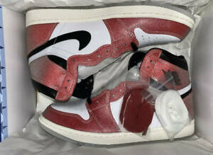 Jordan 1 OG Retro High Trophy Room Chicago - US 10.5 - Authentic with BLUE LACES