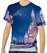 Christmas Castle Mens T-Shirt Tee wa1 aao44170