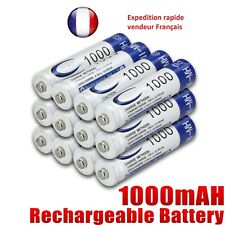 Pile batterie  rechargeable NI-MH 1.2V   AAA 1000mAh / lot de 4 piles