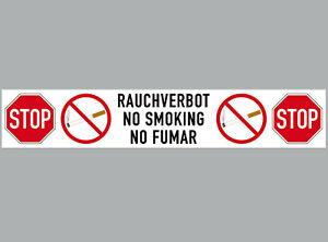 Sticker 7 7/8in Sticker Stop Smoking No. Smoking Fumar Notice 4061963068632