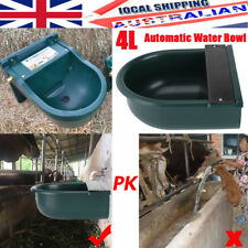 2pack Automatic Float Valve 4l Water Trough Drinking Bowl Chicken Cow Dog Horse