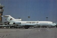 INTERNATIONAL AIR Boeing 727-44 Airline Airplane Postcard
