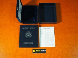 NO COIN: 1994 P PROOF SILVER EAGLE BOX/COA OGP ONLY BUY 2 GET 3RD FREE!