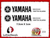Yamaha Guitar Decal Headstock Decal Restoration Waterslide 233