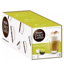 NESCAFE Dolce Gusto Cappuccino 24 Coffee and 24 Milk Pods Capsules Brand New