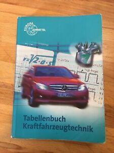 Tabellenbuch Kraftfahrzeugtechnik mit Formelsammlung (2008, Taschenbuch)